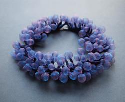 Purple Bubble necklace