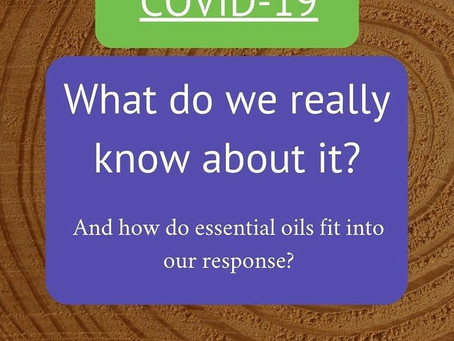 Coronaviruses and essential oils-2 published reviews