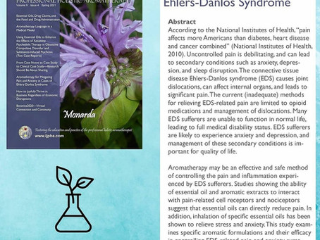 Aromatherapy for Mitigating Pain and Anxiety in Cases of Ehlers-Danlos Syndrome
