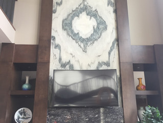 Choosing the right material for your Fireplace