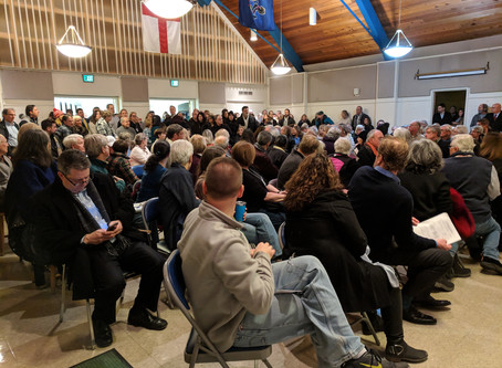 Acme Closing, A summary of the Civic Association Meeting