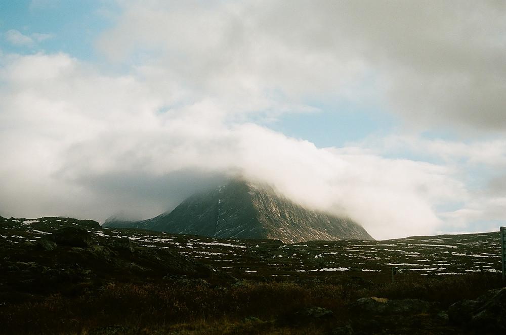 Eruption. Shot on Kodak Portra400.