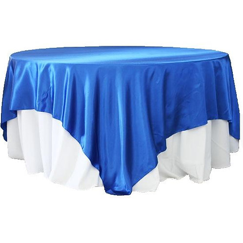 Satin Table Overlays - 90""