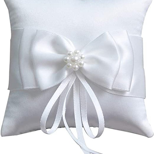 RING BEARER PILLOW - WHITE