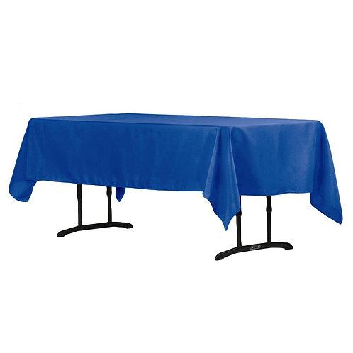 Polyester Rectangle Tablecloth - 60 x 102 - Royal Blue