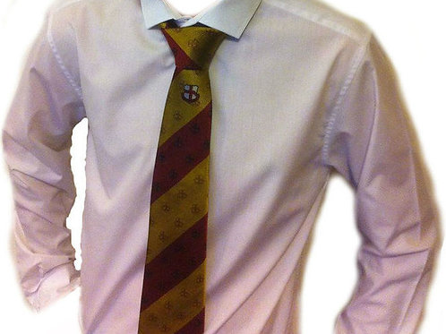 Maroon & Gold Tie