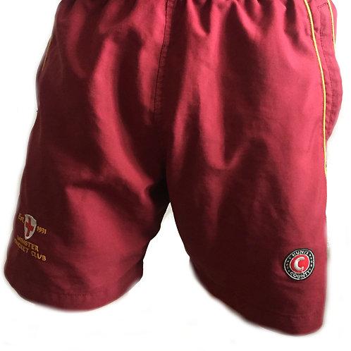 Maroon Training Shorts