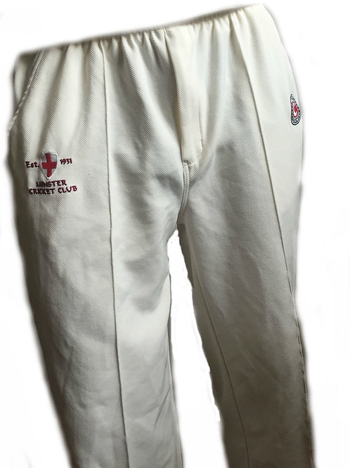 White Playing Trousers