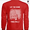 Thumbnail: Let the Good Times Roll - Red Long Sleeve T-Shirt