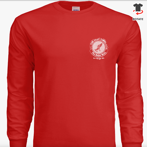 Let the Good Times Roll - Red Long Sleeve T-Shirt