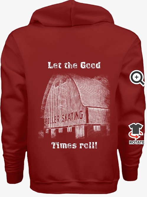 Let the Good Times Roll - Garnet Red Hoody