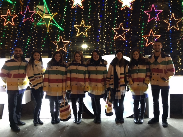 Christmas promotional staffing