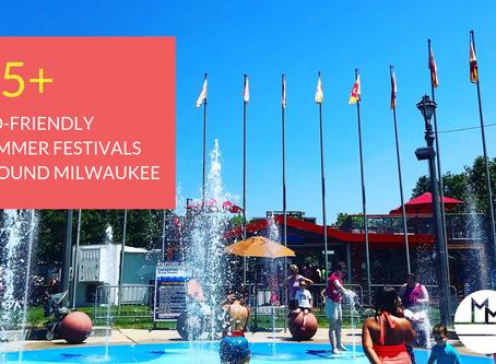 25 Kid-Friendly Summer Festivals Around Milwaukee