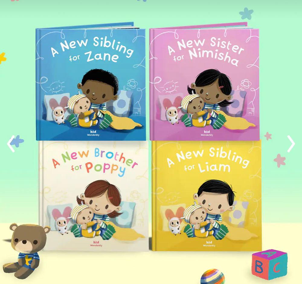 Personalized Big Sister Book From Wonderbly.com