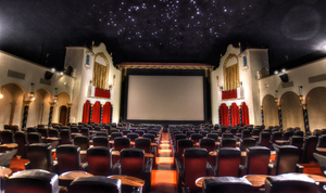 The historic Avalon Atmospheric Theater is located in Milwaukee's funky Bay View neighborhood.