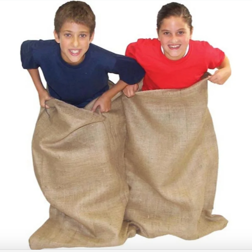 Double Burlap Potato Sack on Overstock.com