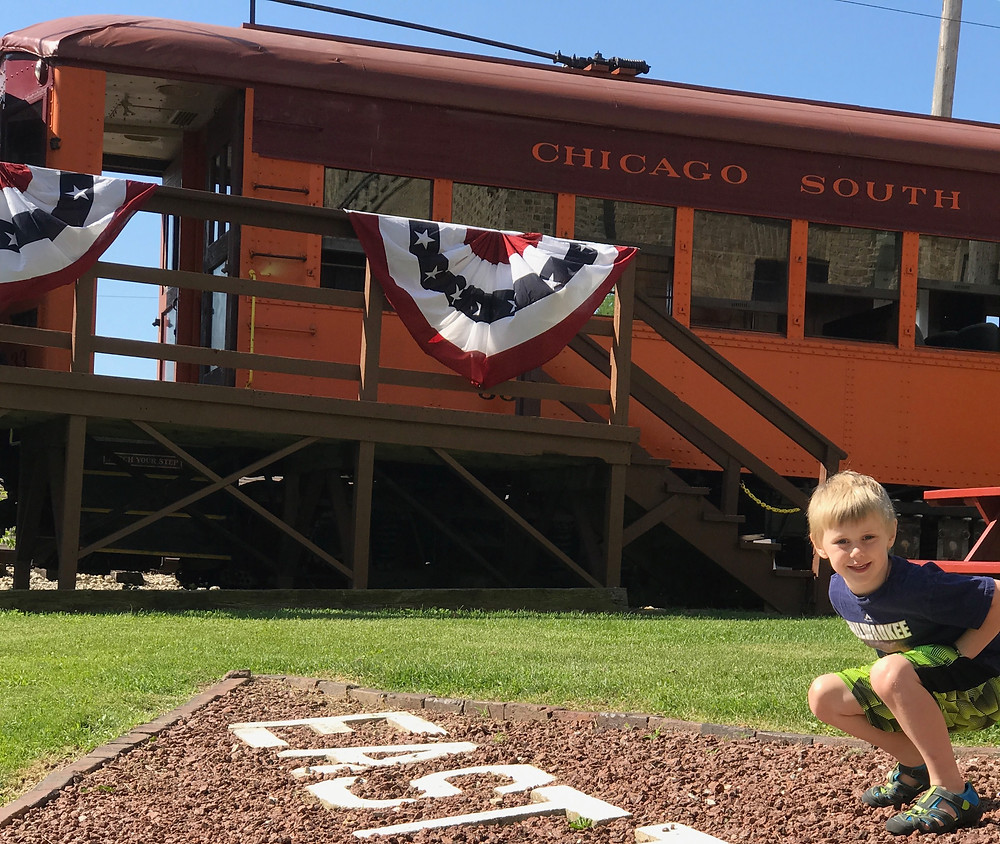 You can ride the historic railcars through the beautiful landscape of Southeast Wisconsin.