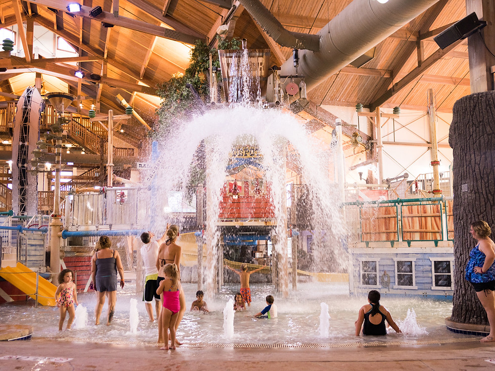 Springs Water Park is the closest indoor water park to downtown Milwaukee.