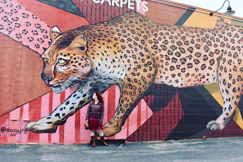 Kashou Carpet Mural in Milwaukee, WI