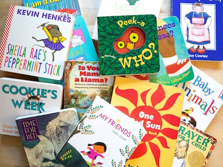 Got gently used board books for babies and toddlers? We'll pick them up!