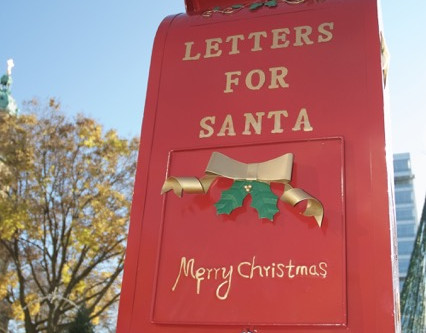 How to send Santa a letter from Milwaukee