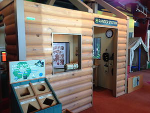 Smokey Bear exhibit at Betty Brinn brings the outdoors in