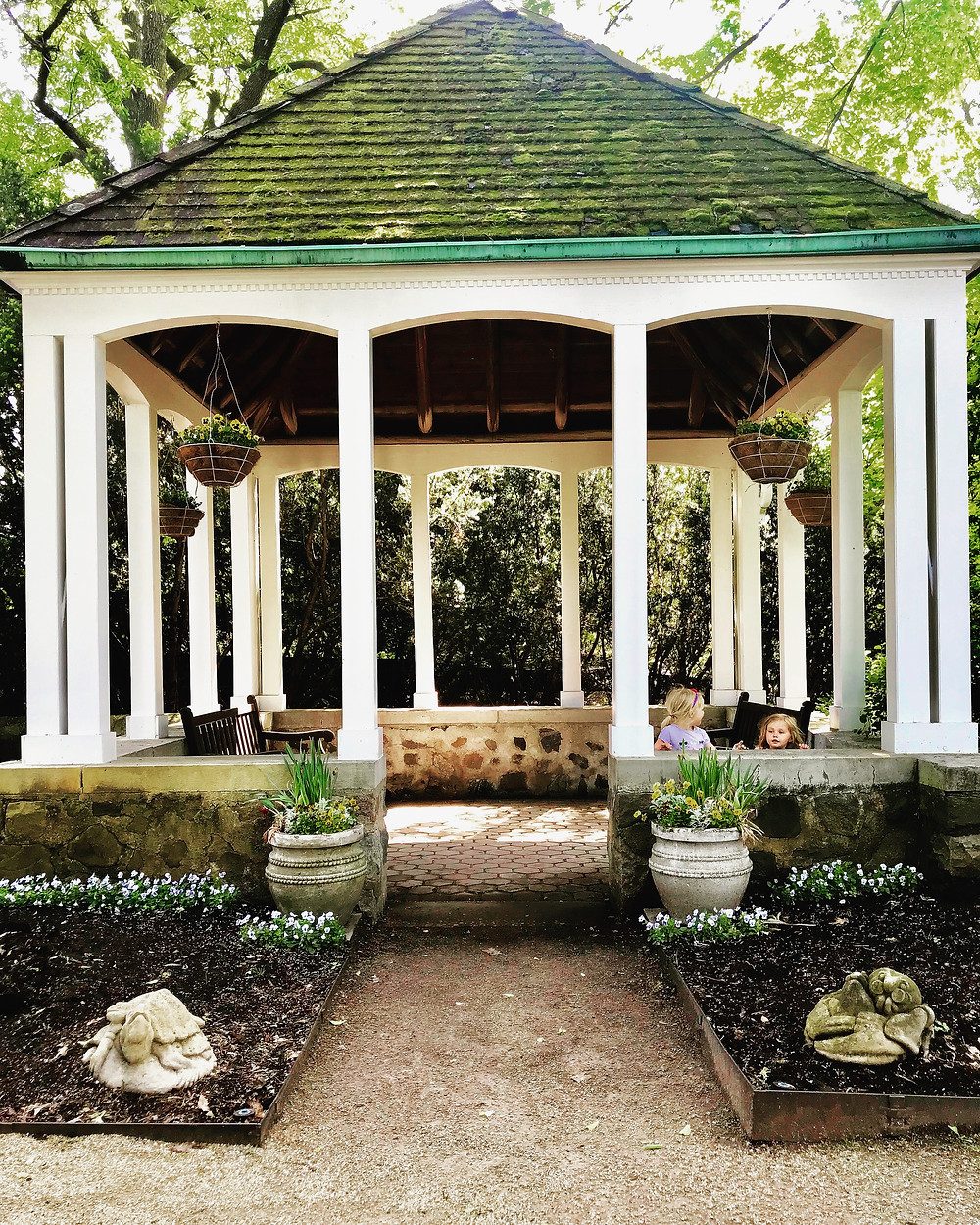Gazebo at Boerner Botanical Gardens