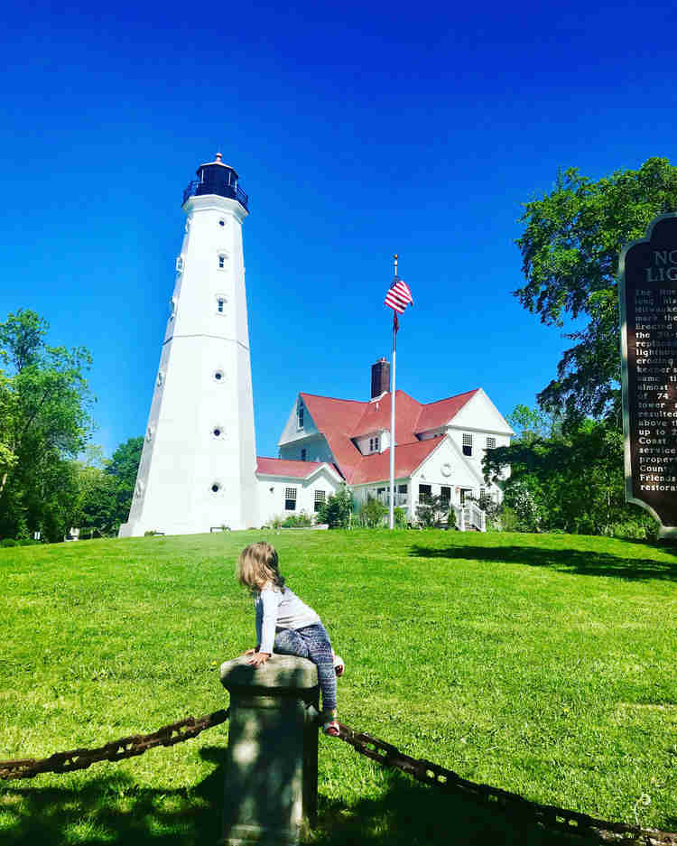 Climb the North Point Lighthouse for a unique view of Milwaukee. It reopens May 1, 2021.