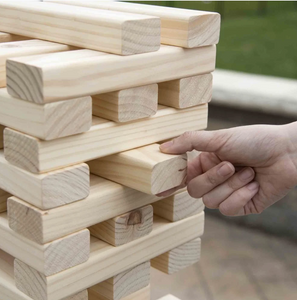 Hey! Play! Wooden Stacking Game