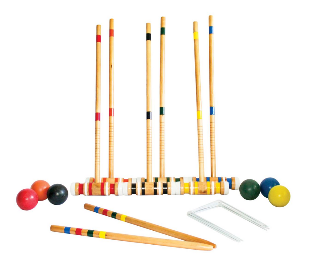 Triumph 6-Player Beginning Croquet Set from Blain's Farm & Fleet.