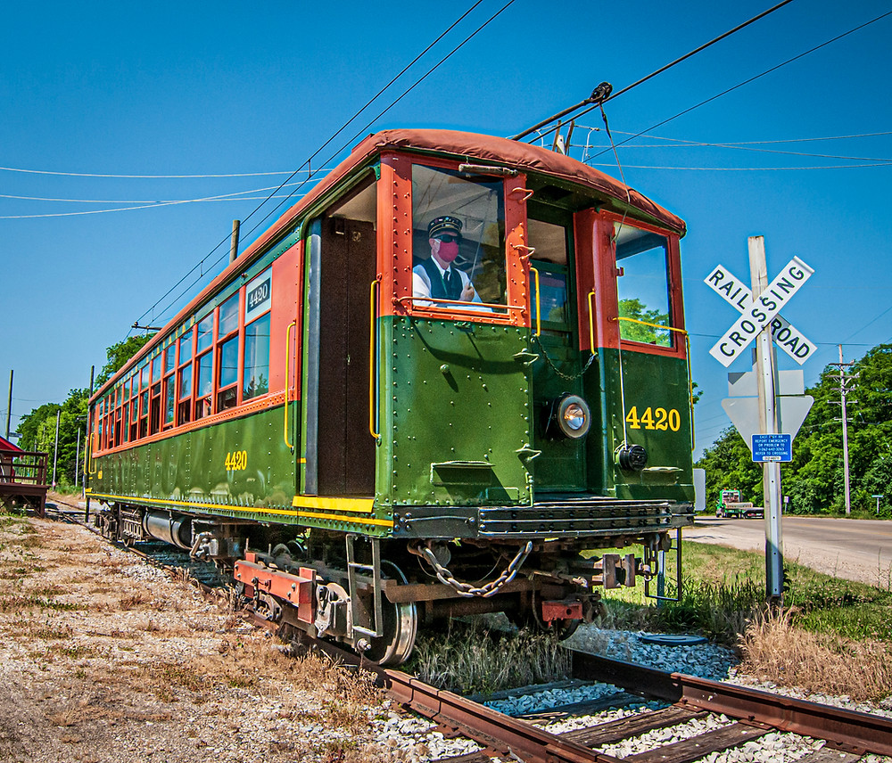 The East Troy Electric Railroad opens April 24th. Masks are required per federal regulations.