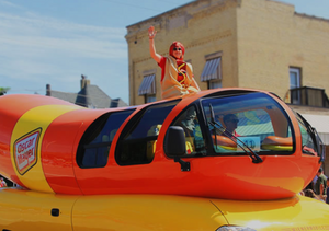 "The iconic ""Weinermobile"" is making stops in Southeastern Wisconsin this weekend."