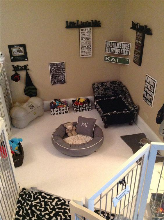 baby gate, dog bedroom