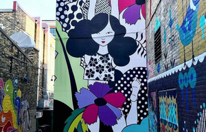 Black Cat Alley is a must-visit for folks who love street art.