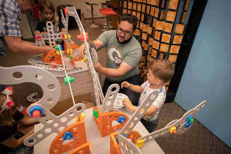 Betty Brinn Children's Museum is currently closed, but plans to reopen in the summer.