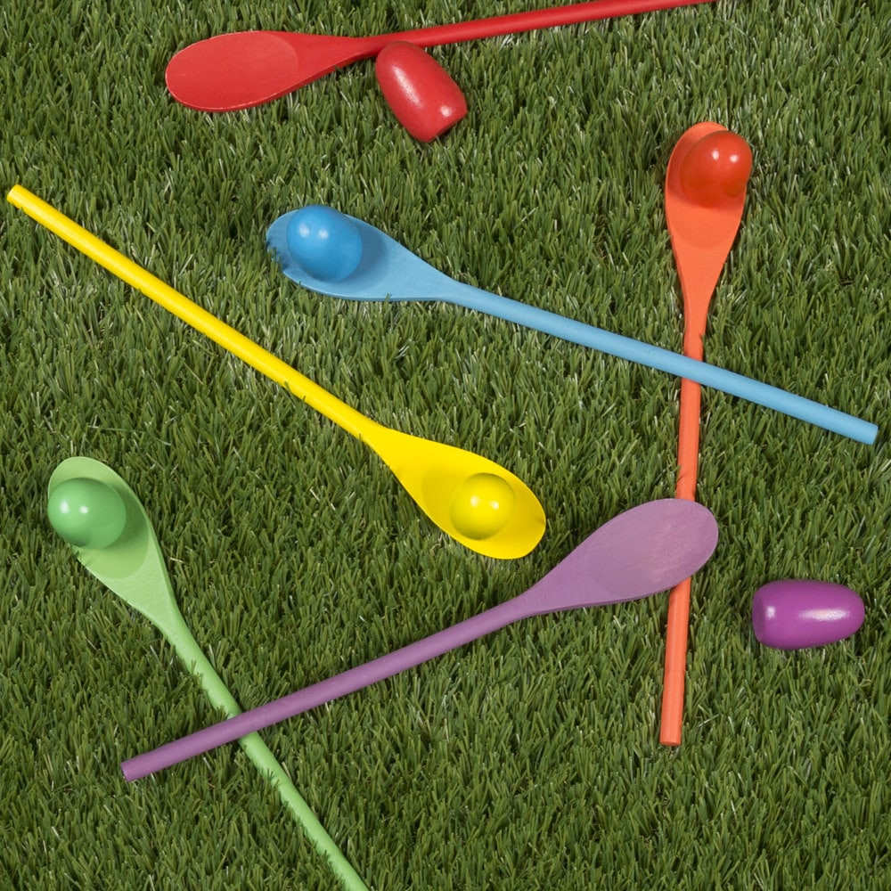 Hey! Play! Wooden Egg and Spoon Race on Overstock.com