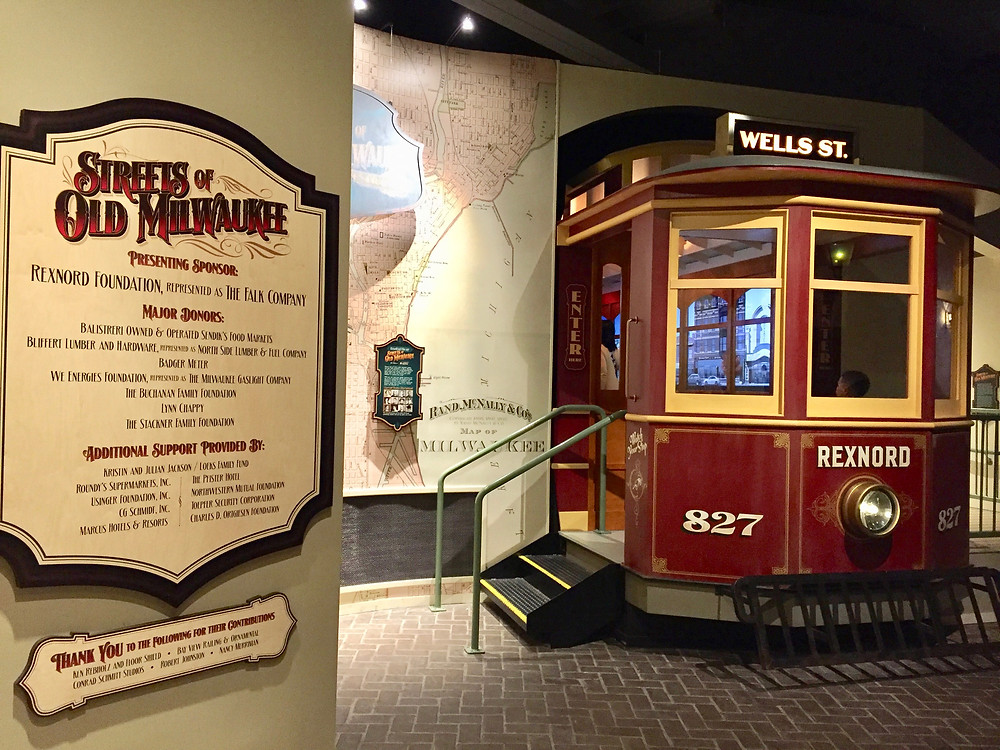The Streets of Old Milwaukee is the most beloved exhibit at the Milwaukee Public Museum.