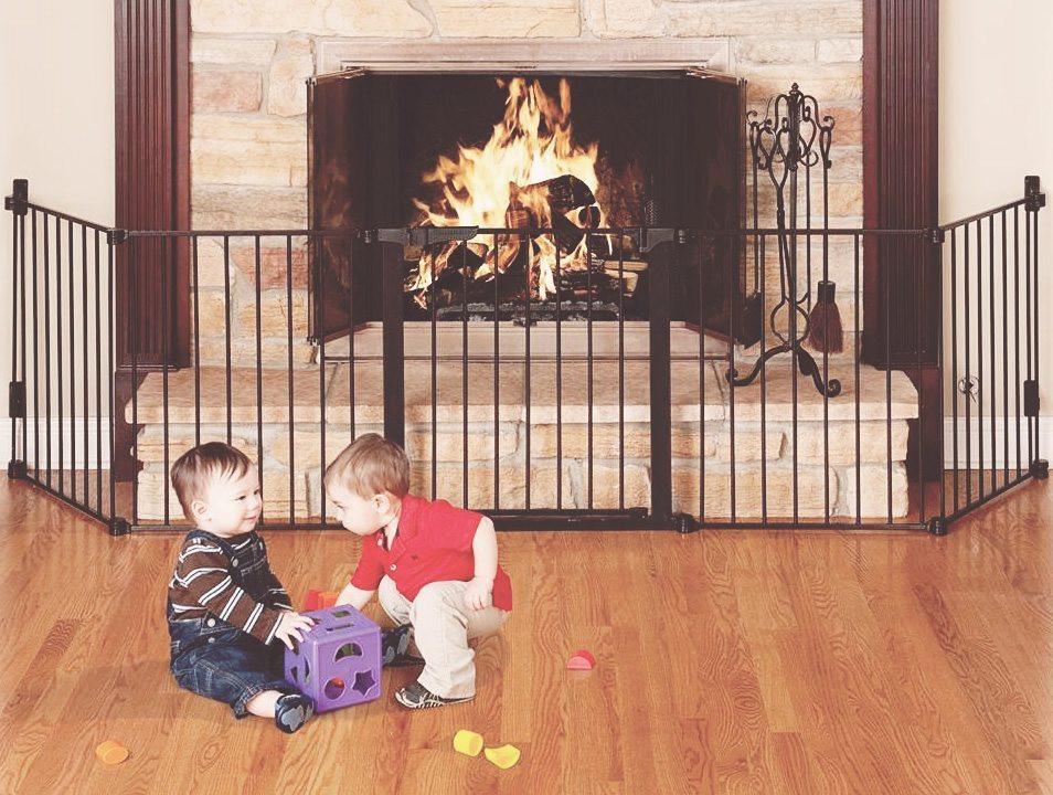baby gate, fireplace gate
