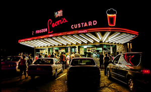 Leon's Custard does not have a large online presence, but it's a legend nonetheless.