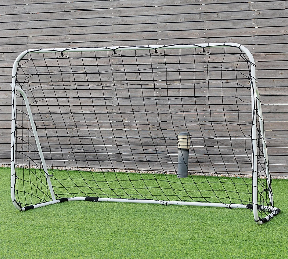 Costway 6'x4' Steel Soccer Goal on Overstock.com