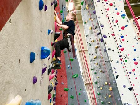Rock Climbing with kids around Milwaukee
