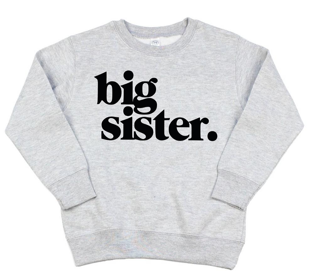 Big Sister Sweatshirt on Etsy