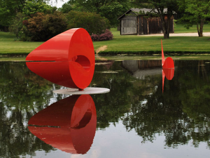 Lynden Sculpture Garden is a unique experience of art in nature.