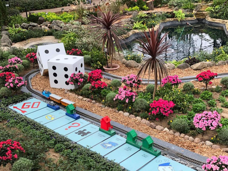 'All Aboard Games' Train Show Debuts at the Domes
