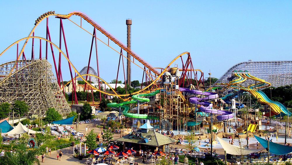 Six Flags Great America reopens to the public April 24, 2021. (BusinessWire)