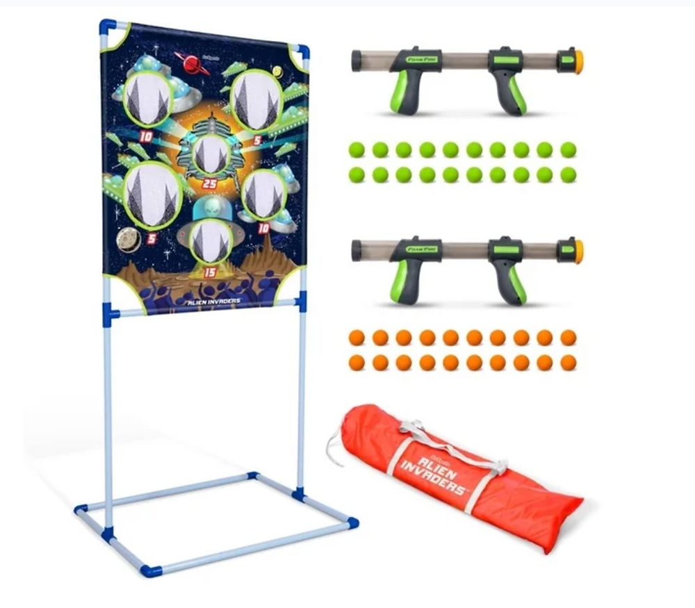 GoSports Foam Fire Alien Invaders Game Set on Overstock.com