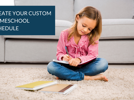 How To Create Your Homeschool Schedule (+ Resource Library!)