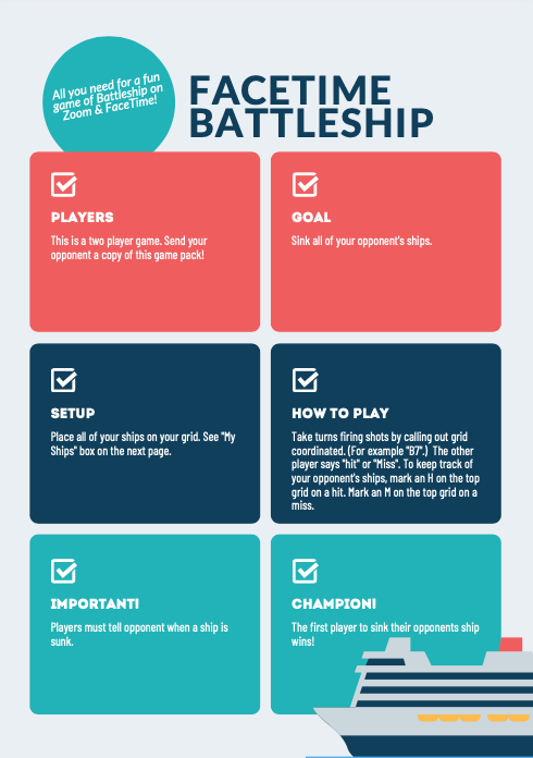 Battleship Game Pack