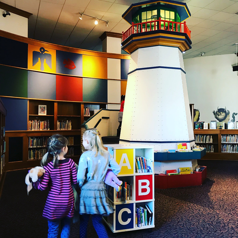 The Betty Brinn Children's Room in Central Library is a wonderful space for kids.