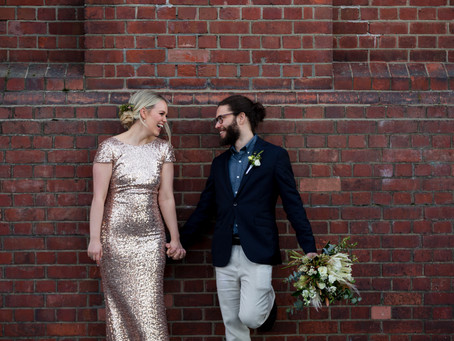 Wellington Wedding Photographer | Poquito Bar Wellington Urban Wedding | Gretchen & Murphy